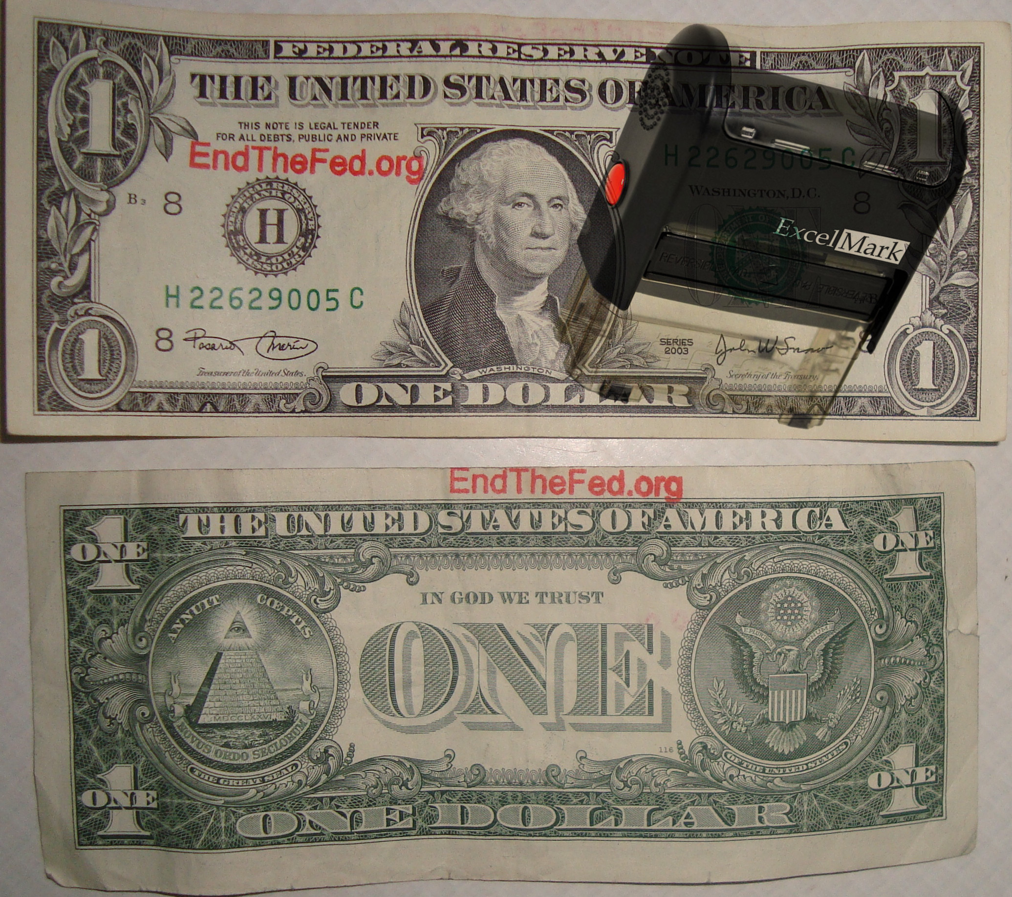Cash Stamp
